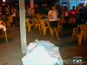 Everaldo Morais de Araújo morreu após ser atingido durante uma troca de tiros, em 2011 (Foto: Reprodução/TV Anhanguera)
