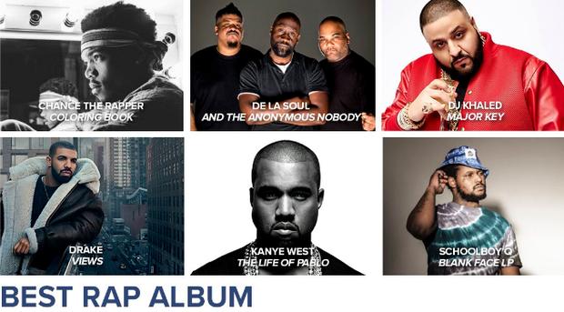 Lista de Indicados Grammy (Foto: Reprodução/Instagram)