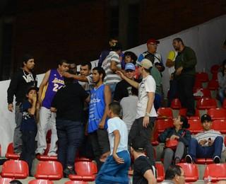 Mogi das Cruzes x São José Campeonato Paulista de Basquete (Foto: Bruno Rocha)