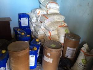 Material apreendido na Operação Jammer (Foto: Divulgação/ MP-ES)