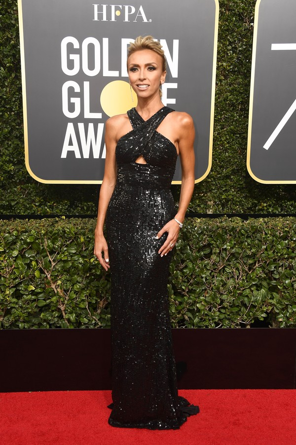 BEVERLY HILLS, CA - JANUARY 07:  TV personality Giuliana Rancic attends The 75th Annual Golden Globe Awards at The Beverly Hilton Hotel on January 7, 2018 in Beverly Hills, California.  (Photo by Frazer Harrison/Getty Images) (Foto: Getty Images)