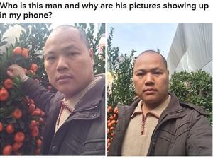Matt postou um texto perguntando quem é o homem das selfies que começaram a aparecer em seu iPhone (Foto: Reprodução/Buzzfeed/Matt Stopera)