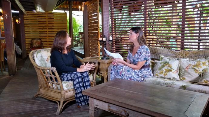 Consultora deu dicas financeiras para casais no Mistura (Foto: RBS TV/Divulgação )