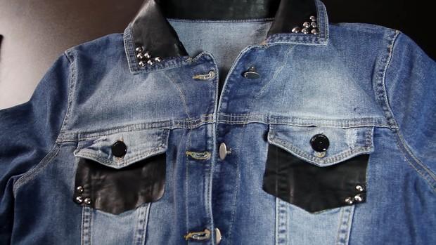 Video como customizar jaqueta (Foto: Reprodução)