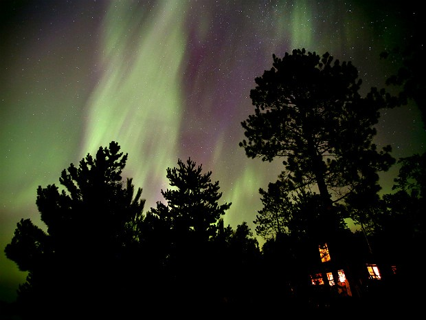 Aurora boreal 2 (Foto: The Star Tribune/Brian Peterson/AP)