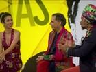 Tribalistas apresentam no Fantástico prévia da turnê do trio pelo Brasil