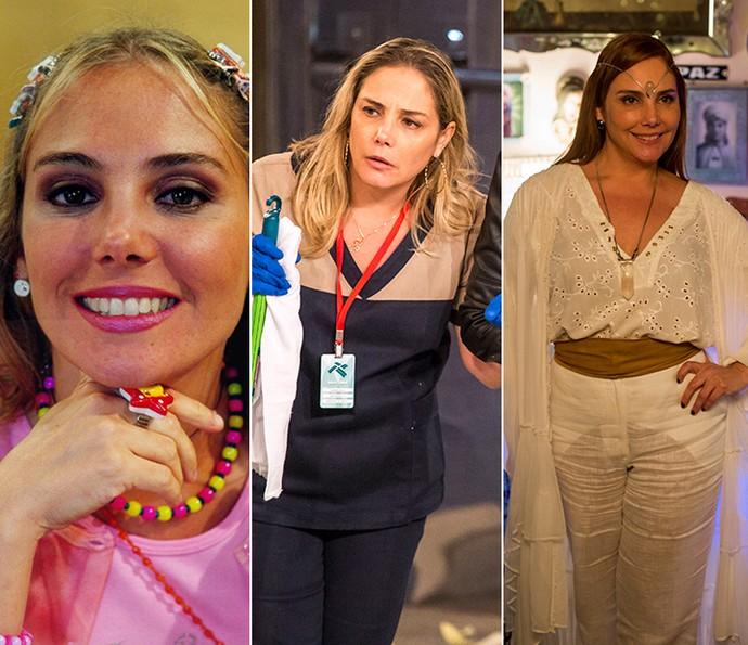 Heloísa Périssé em 'Escolinha do Professor Raimundo', 'Tomara que Caia' e 'A Lei do Amor' (Foto: Cedoc/Gshow)