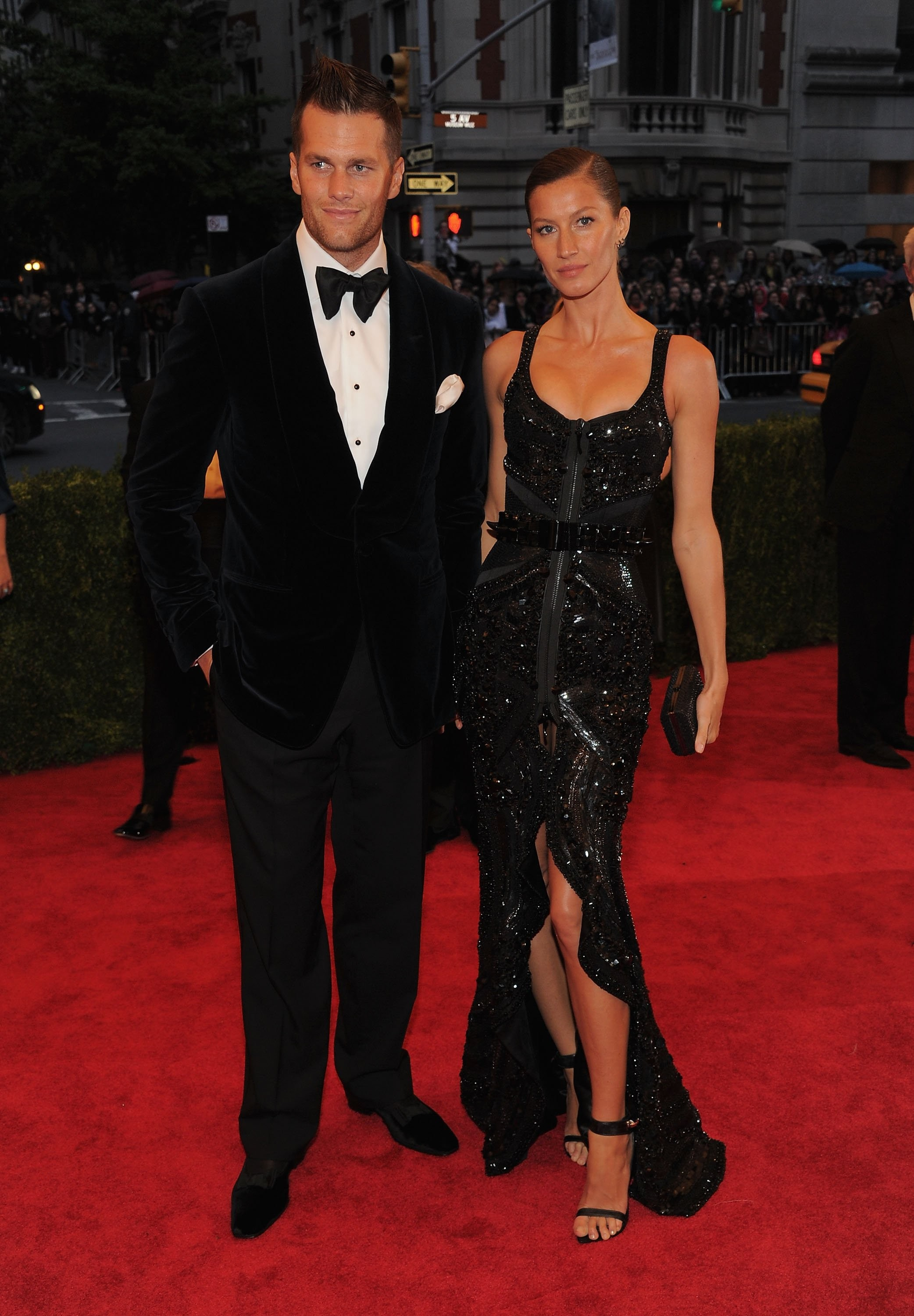Gisele Bundchenm, de Givenchy, no Baile do Met de 2012 (Foto: Getty Images)