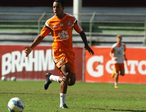 Breno Lopes treino Fluminense