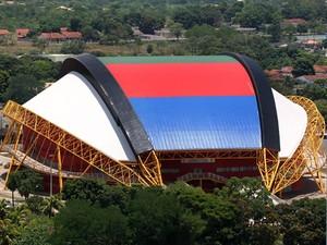 Aecim Tocantins é palco do Brasileiro Sub-15 de Futsal (Foto: Edson Rodrigues/Secom-MT)