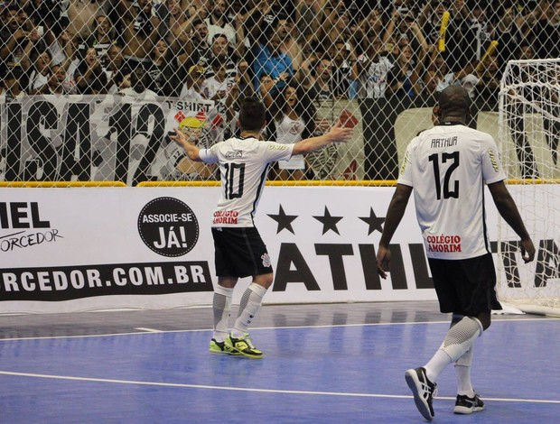 Deives Sorocaba Corinthians final da Liga Nacional de Futsal