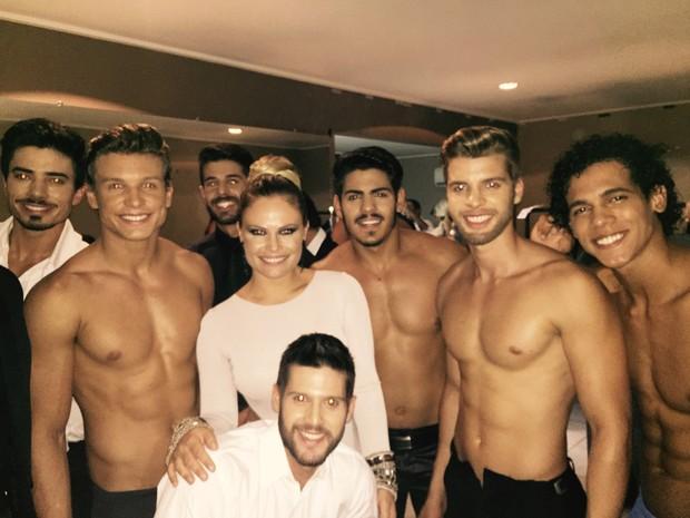 Natalia Casassola é jurada do 'Mister Universo Brasil' (Foto: Arquivo Pessoal)