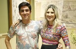 Dani Calabresa e Marcelo Adnet trabalham juntos na 'Escolinha'
