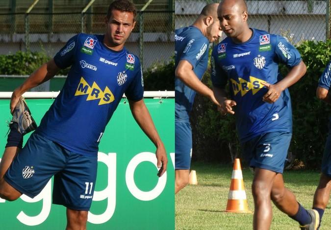 Jataí e Bruno Ré (Foto: Rafaela Borges)