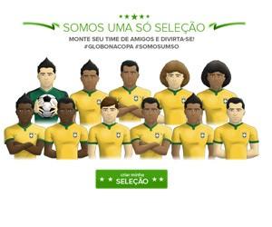 Somos Uma Só Seleção (Foto: Divulgação/ Globo)