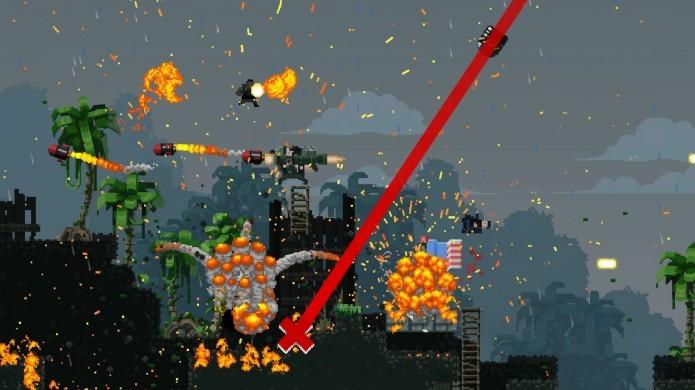 Os gráficos de Broforce são bonitos e divertidos de se ver (Foto: Divulgação/Steam)