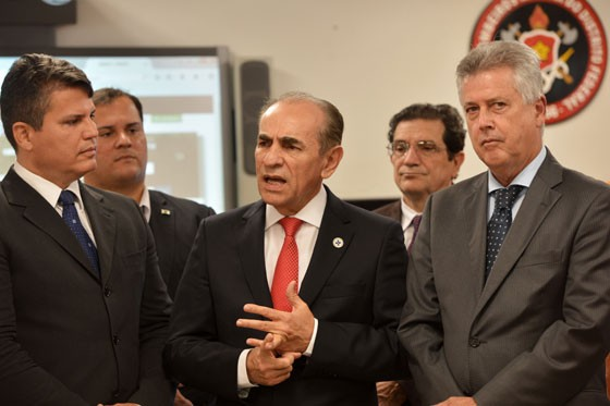 Ministro da Saúde, Marcelo Castro, durante evento em Brasília (Foto: Elza Fiúza/AgBrasil)