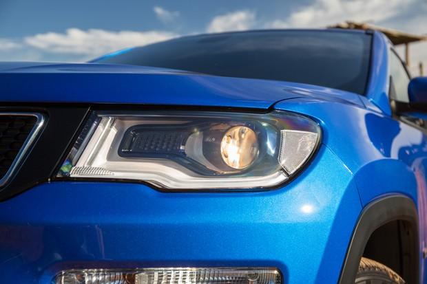 Jeep Compass Longitude turbodiesel (Foto: Marcos Camargo / Autoesporte)