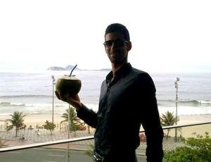 Djokovic no Rio de Janeiro twitter (Foto: Reprodução / Twitter)