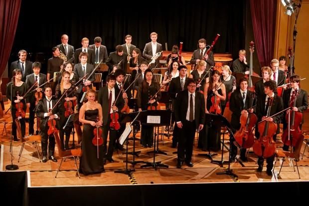 Orquestra Alemã se apresenta em João Pessoa junto com a Orquestra da UFRN (Foto: Divulgação / Orquestra Alemã)