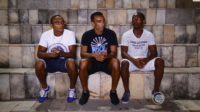 Jogadores do River-PI comentam a boa fase do time e o carinho dos torcedores (Foto: Reprodução/Rede Clube)