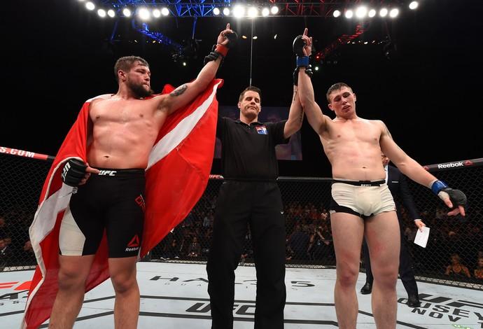 Nicolas Dalby Darren Till UFC Dublin 2 (Foto: Getty Images)