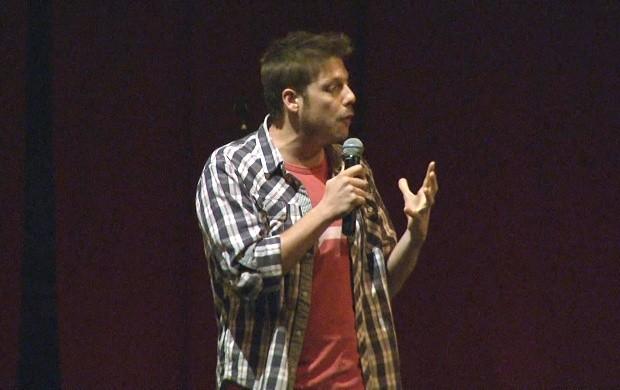 Comediante Fábio Porchat faz show em Boa Vista (Foto: Bom Dia Amazônia)