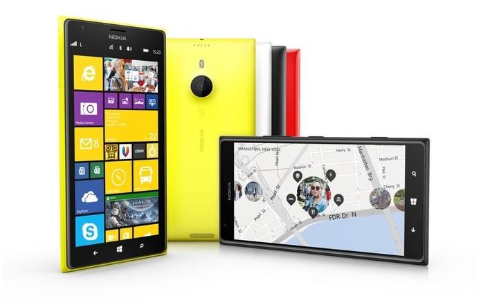 Lumia 1520 é o primeiro foblet da Nokia, com tela Full HD, Windows Phone 8 e processador quad-core (Foto: Divulgação/Nokia)