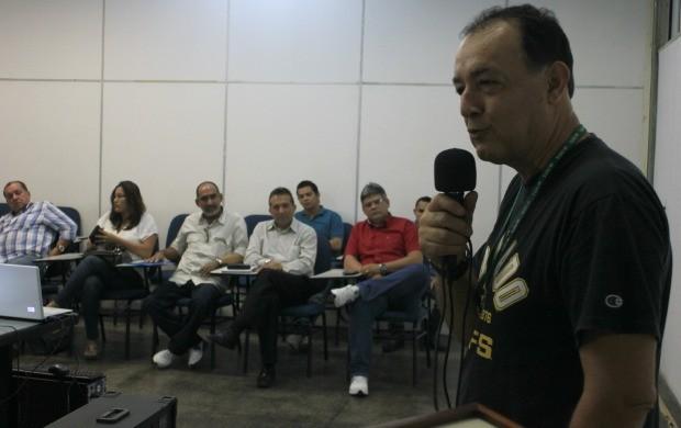 Representantes de instituições parceiras participaram do encontro (Foto: Katiúscia Monteiro/ Rede Amazônica)