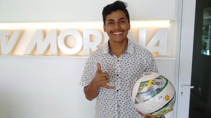 Luiz Henrique da Silva Peralta (Foto: Reprodução/TV Morena)