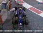 """Indonésio """"paga mico"""" ao bater na saída dos boxes na GP2. Confira vídeo"""