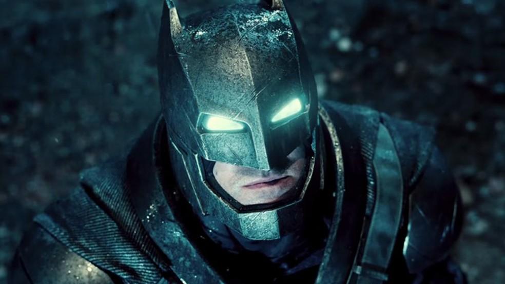 Ben Affleck como Batman em 'Batman vs. Superman: A origem da justiça' (Foto: Divulgação)