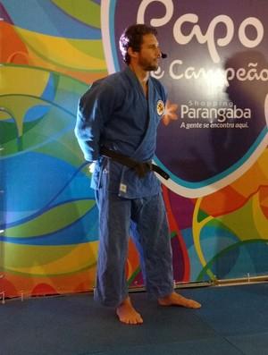 Flávio Canto, judô (Foto: Juscelino Filho)