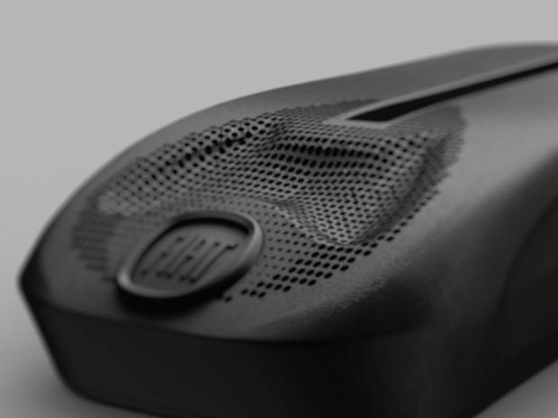 Chave com bafômetro, desenvolvida para a Fiat (Foto: Divulgação)