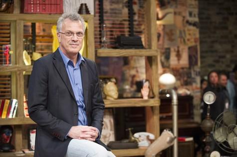 Pedro Bial apresenta 'Na moral' (Foto: TV Globo)