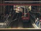 Raios danificam rede elétrica da Linha 7-Rubi da CPTM