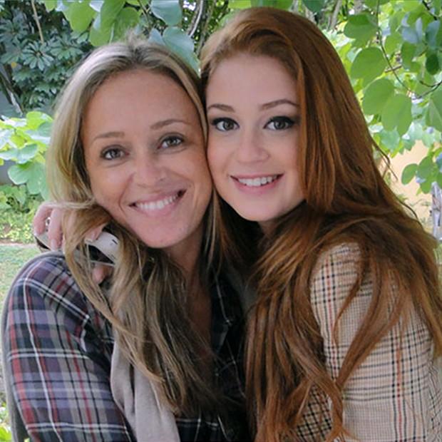 Marina Ruy Barbosa e sua mãe (Foto: Arquivo Pessoal)