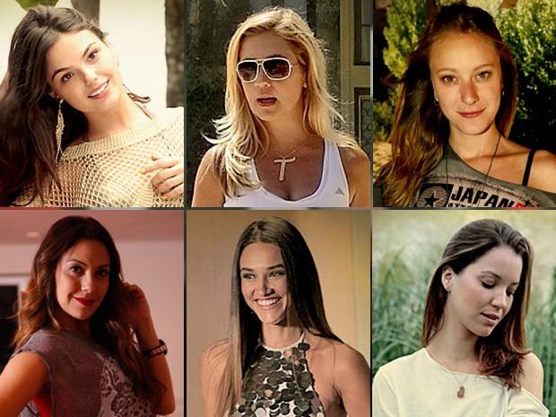 Suelen, Carminha, Begônia, Olenka, Tessália e Débora (Foto: Avenida Brasil / TV Globo)