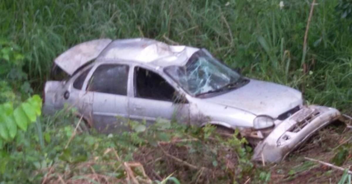Acidente entre carro e caminhonete deixa nove feridos na BR-153 ... - Globo.com