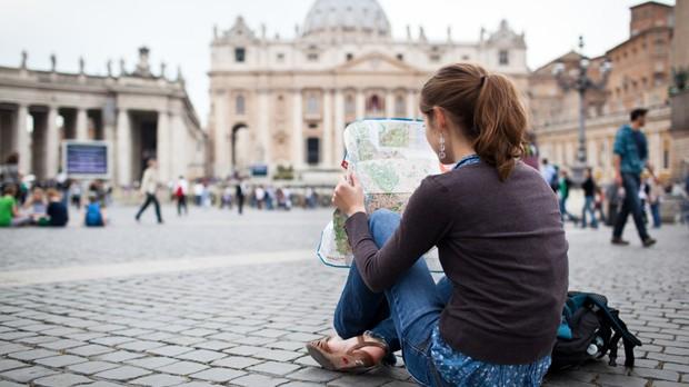 Mapa de Roma para poucos dias na cidade (Foto: Divulgao)