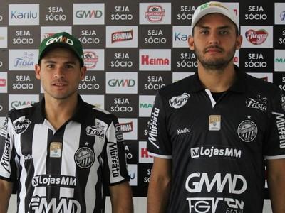 nata e doda operário-pr (Foto: Gustavo Dornelles/Operário-PR)