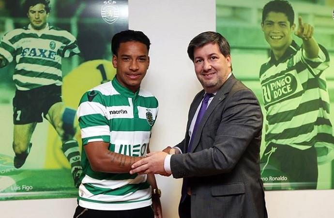 Matheus Pereira Sporting (Foto: Divulgação)
