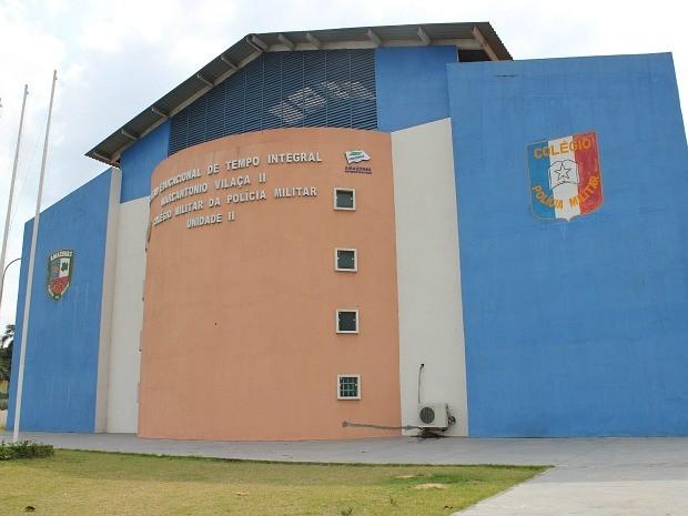 Escola (Foto: Adneison Severiano/G1 AM)