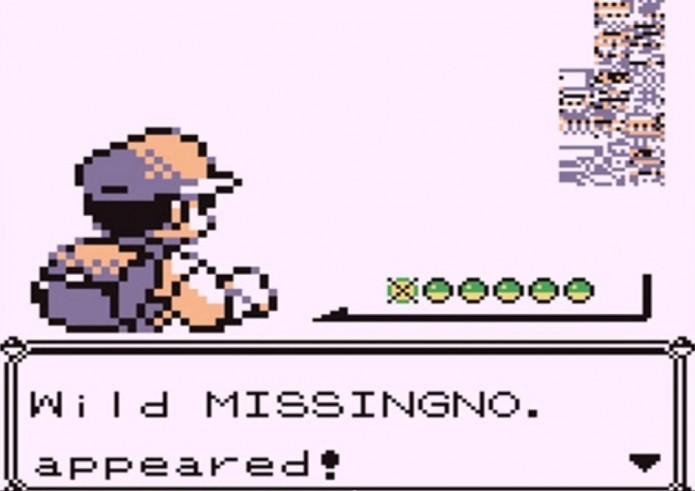 Pokemon Red and Blue: Missingno é um erro na programação do jogo (Foto: Reprodução/Somos Nerds)