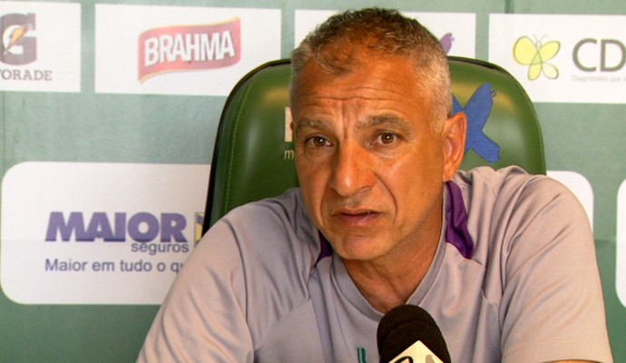 Márcio Fernandes técnico Guarani (Foto: Carlos Velardi / EPTV)