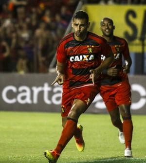 Diego Souza Sport x Atlético-PR (Foto: Agência Estado)