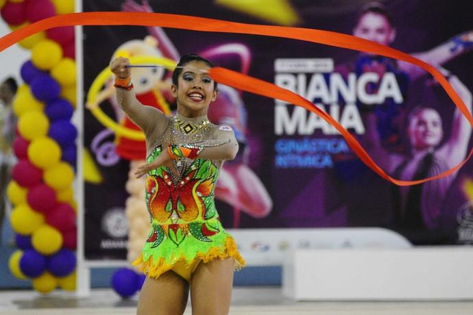 Ginástica Rítmica AM  (Foto: Mauro Neto/Sejel)