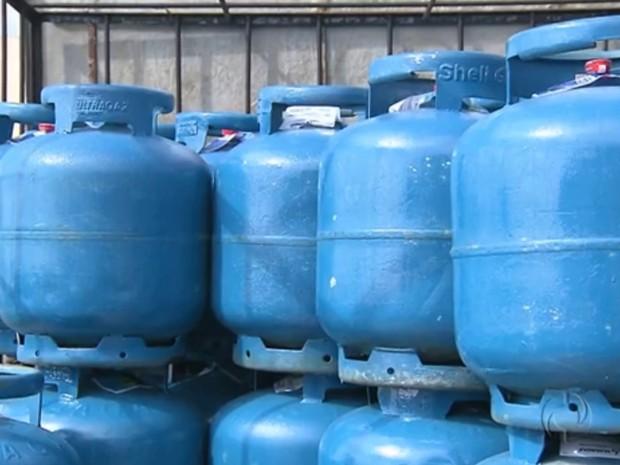 Gás de cozinha tem reajuste de preço acima da inflação em Curitiba (Foto: Reprodução/RPC TV)