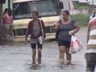 Temporal provoca estragos e deixa desalojados no litoral de São Paulo