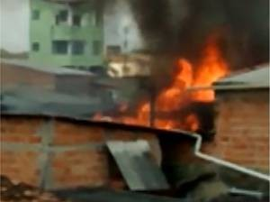 Incêndio Guamá Belém (Foto: Reprodução/TV Liberal)